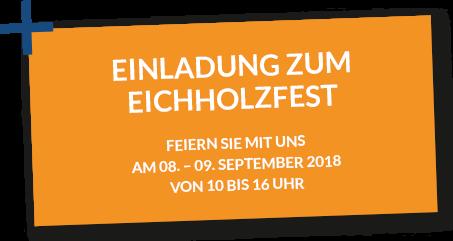 Eichholzfest 2018 Einladung