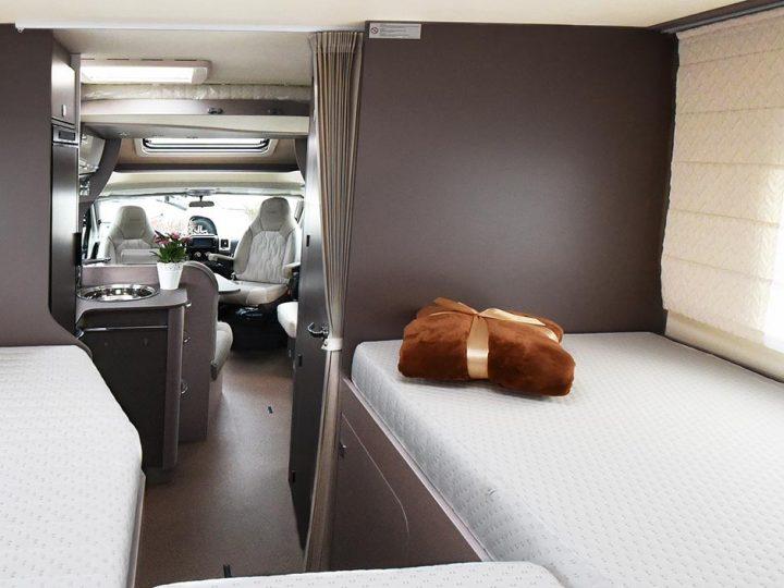 Einzelbetten und Hubbett