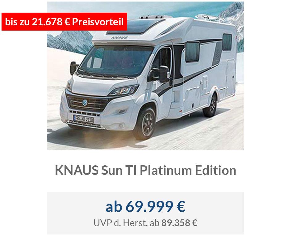 KNAUS Sun TI Platinum Edition