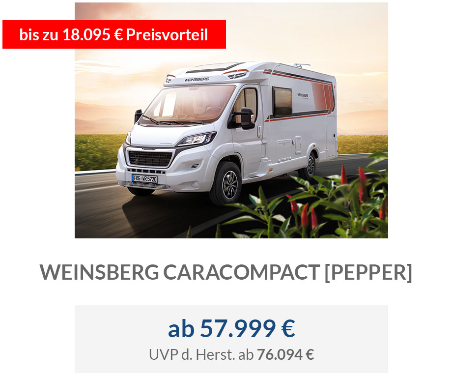 Weinsberg CaraCompact [Pepper]