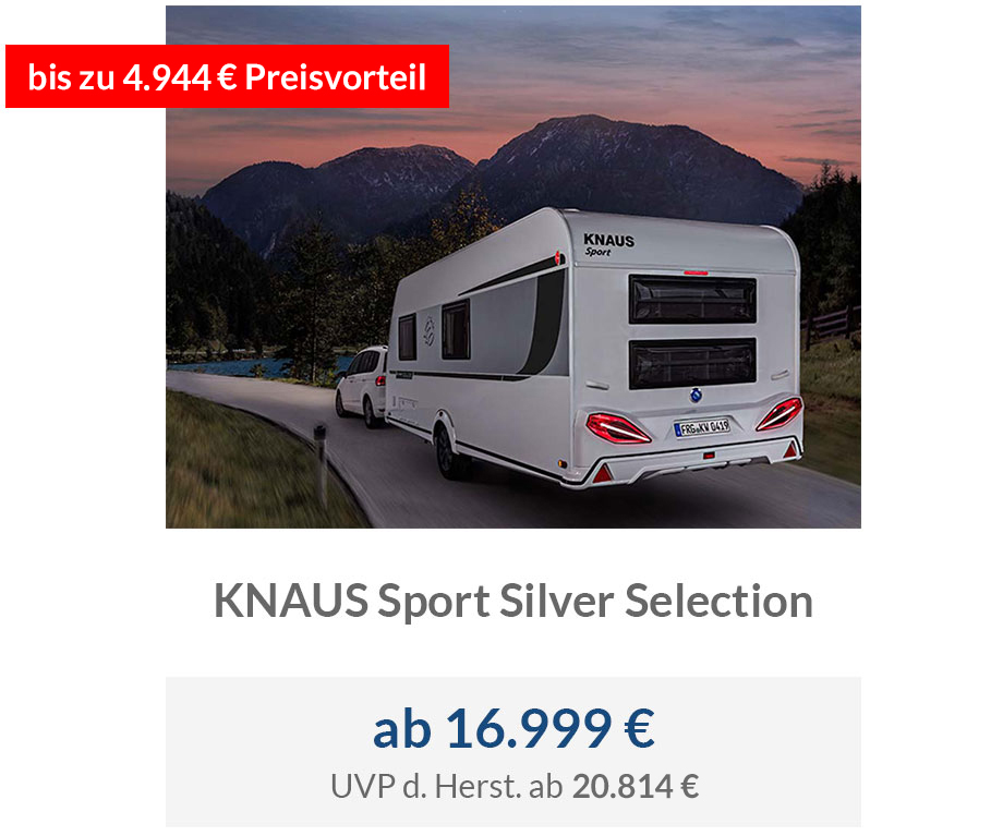 KNAUS Sport Silver Selection