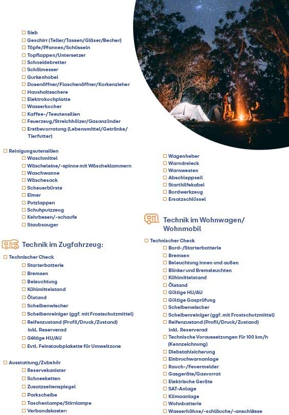 Reisecheckliste Seite 3