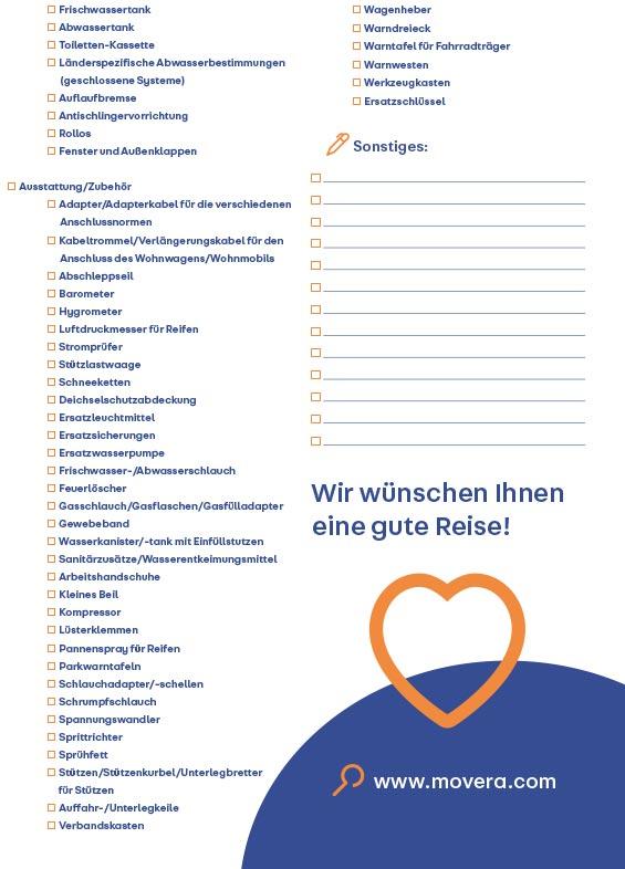 Reisecheckliste Seite 4