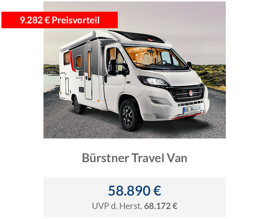 Bürstner Travel Van