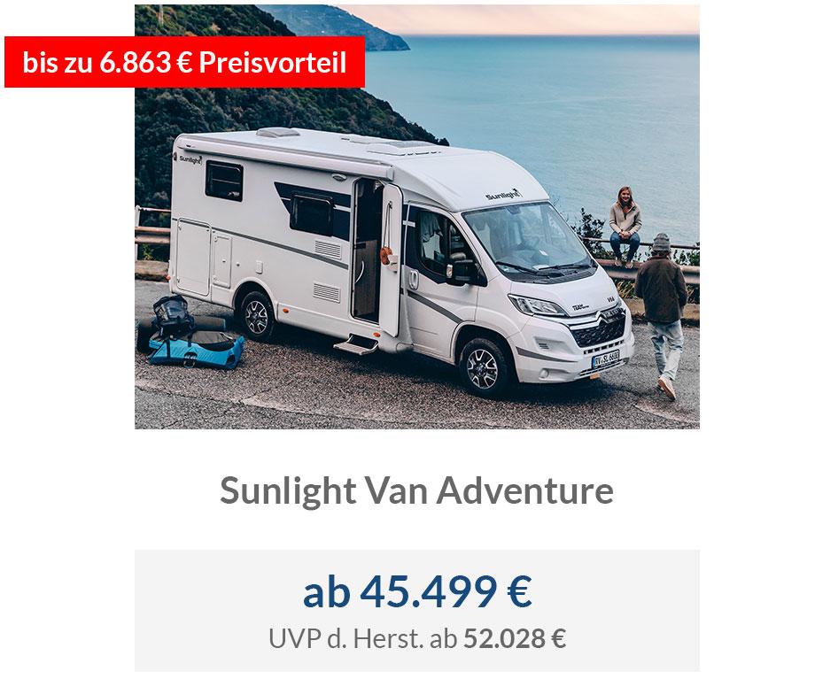Sunlight Van Adventure